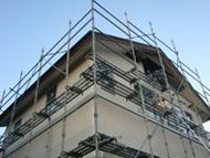 戸建住宅の足場工事